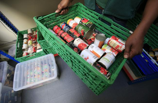 Greater Manchester charity FareShare is asking the public for donations and volunteers. Picture: PA Wire.