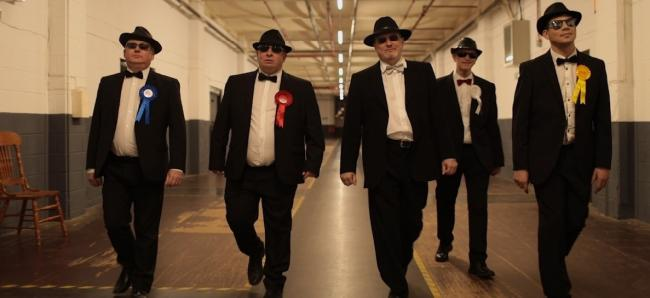 The Councillors, left to right: Sam Al-Hamdani, Jamie Curley, Paul Errock, Stephen Hewitt and  Duncan Goodman