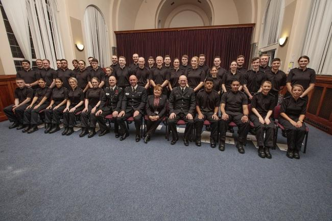The new special constables