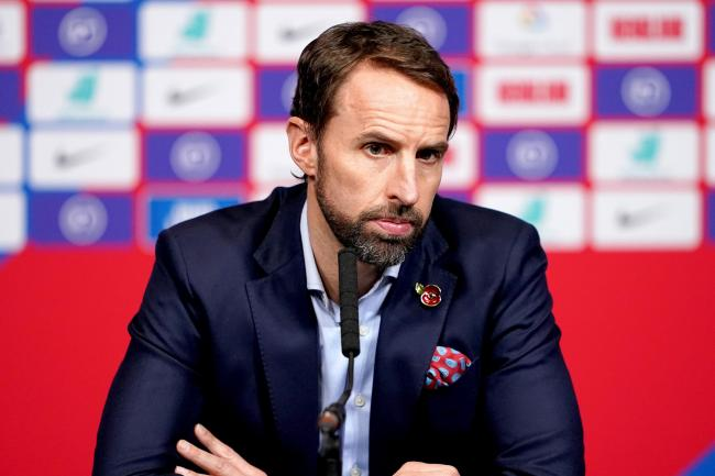 Gareth Southgate's side will face Denmark in March.
