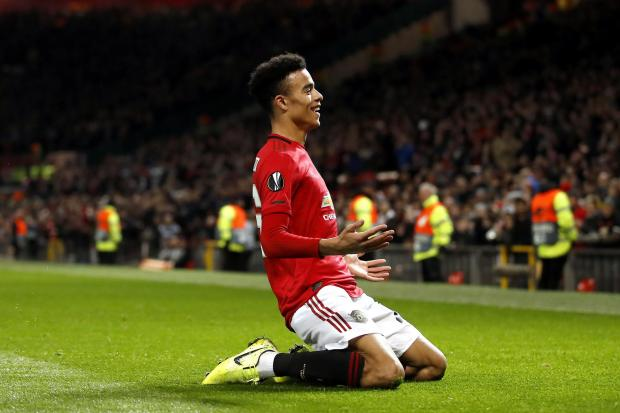 Mason Greenwood has scored six goals in all competitions this season