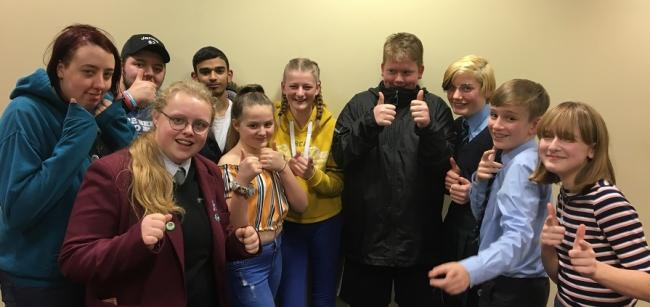 Members of Oldham Youth Council