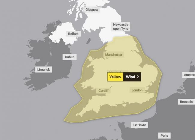 Storm Dennis. The Met Office has warned of a new storm on its way