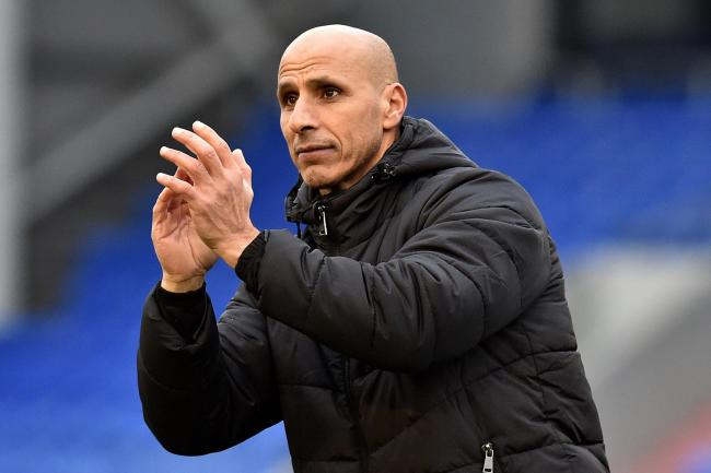 Oldham Athletic manager Dino Maamria has confirmed his squad must train away from the club