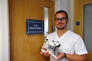 Chris Wibberley at CW Dentures, Delph.  Business Profile.
