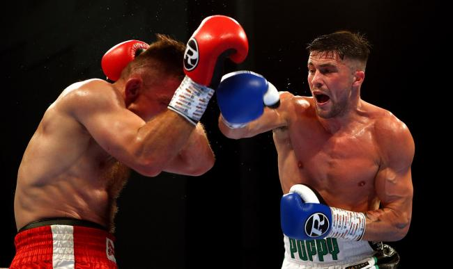 FIGHT FAVOURITE: Mark Heffron wants to show his skills on the biggest stage the town has to offer – Boundary Park