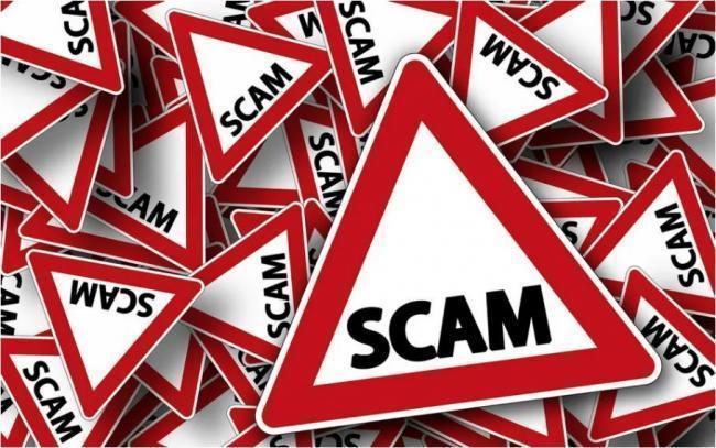 Cumbria County Council have warned of online scams