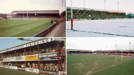 A montage produced by the club of Oldham RLFC's historic Watersheddings ground