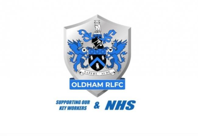 The Oldham RLFC t-shirt design for the NHS