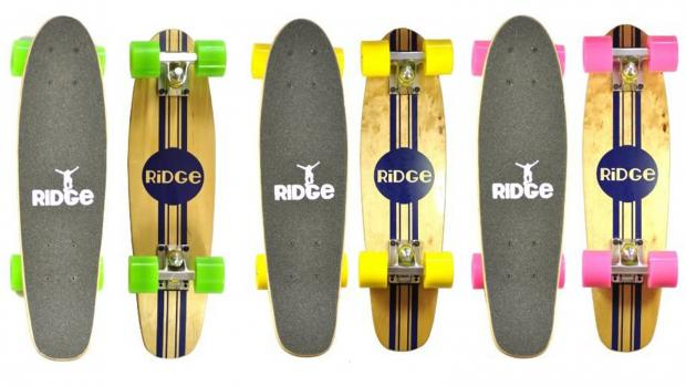 The Oldham Times: Whether you're learning to skate for the first time or returning to the habit, this board is a great way to do it. Credit: Ridge Skateboards / Amazon