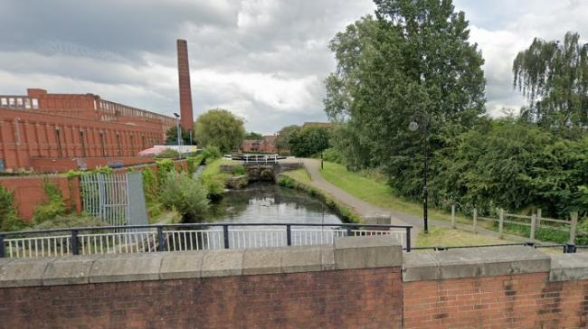 The Rochdale Canal at Failsworth
