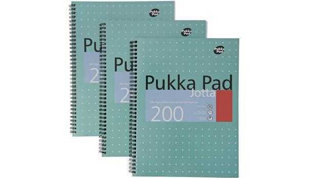 The Oldham Times: A notebook for every subject Credit: Pukka Pad