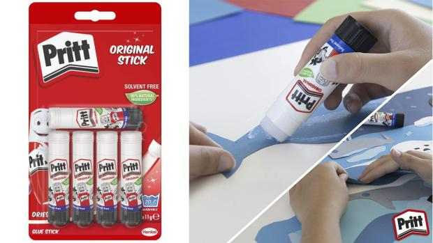 The Oldham Times: Don't worry. These glue sticks are washable. Credit: Pritt