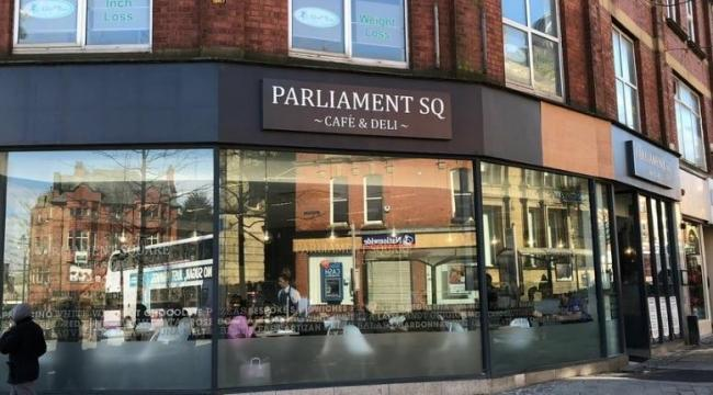 Parliament Square Deli in Oldham is one of the pavement licence applications