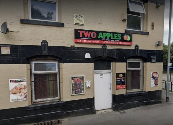 Two Apples Cafe in Rochdale Road