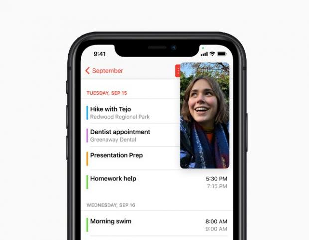 The Oldham Times: With Picture-in-Picture, users can watch a video or take a FaceTime call while using another app. Picture: Apple