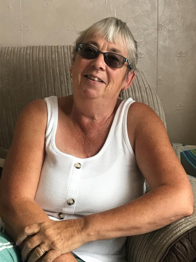 Foster carer Linda Garforth