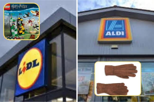 Aldi and Lidl middle aisles: Christmas bargains available from Sunday, December 6?. Picture: Aldi/Lidl/Canva