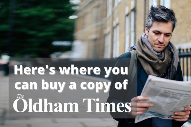 Where you can find a copy of the Oldham Times