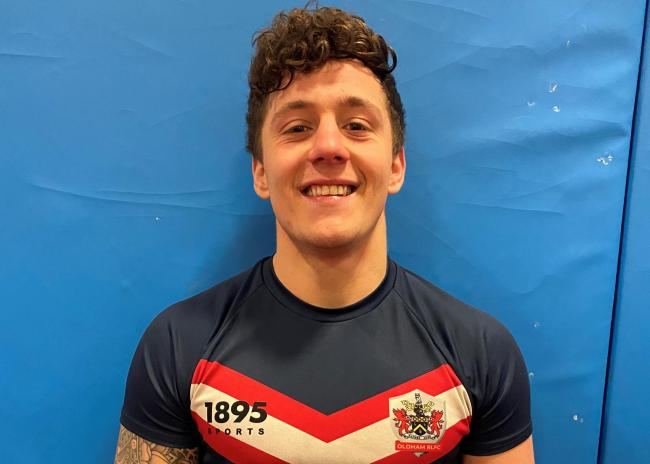 Roughyeds back Joe Hartley