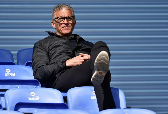 Stock action picture of Oldham Athletic's Keith Curle (Head Coach).