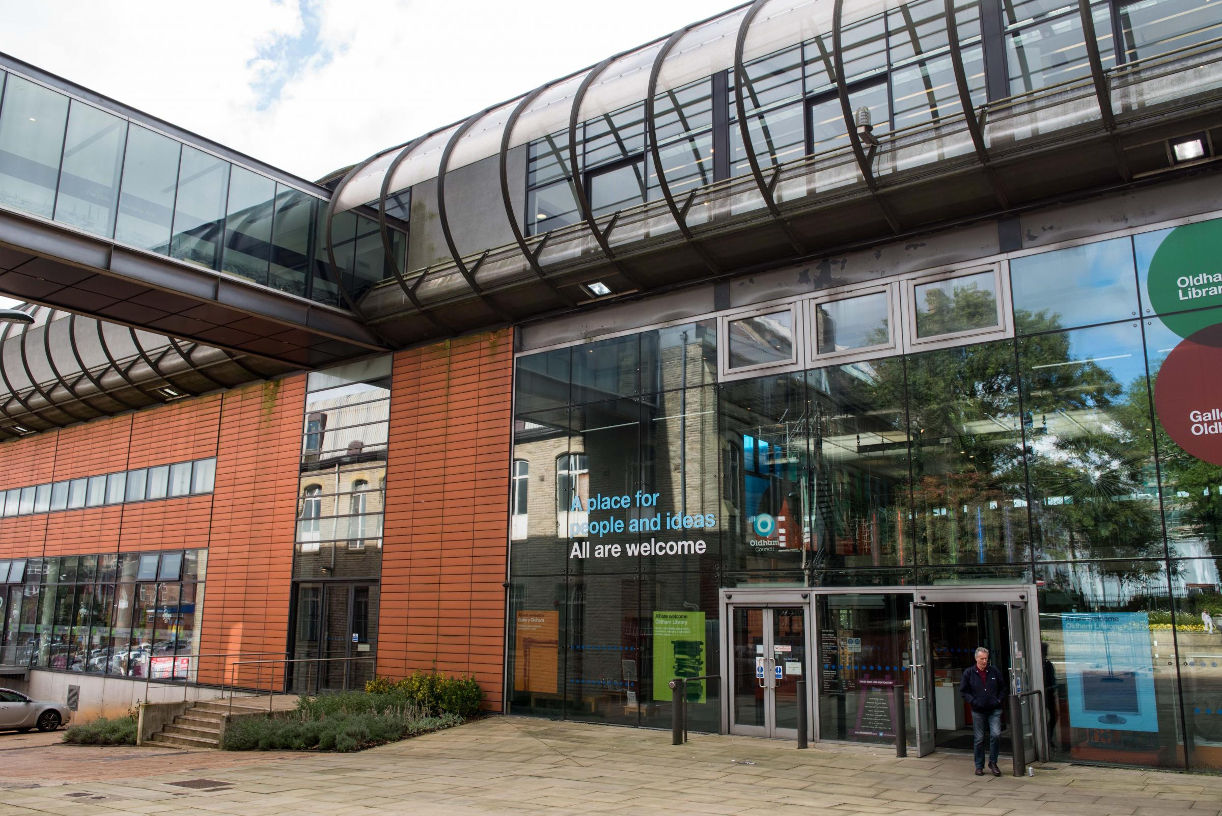 Gallery Oldham and Oldham Library which will host International Women's Day events