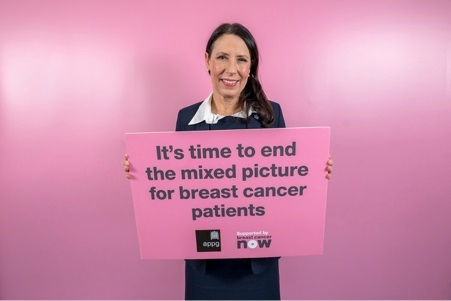 AN end to inequalities: Debbie Abrahams MP