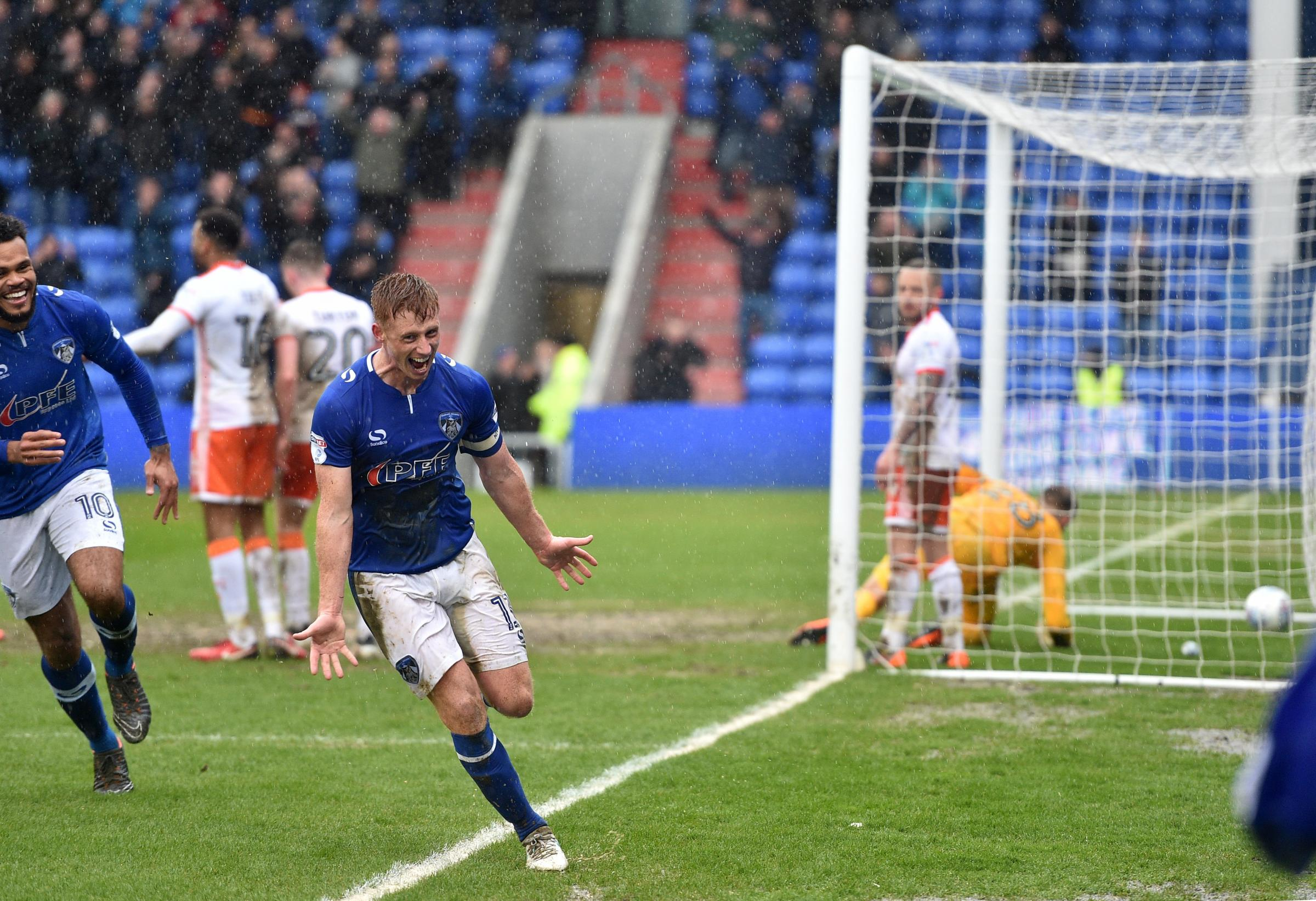 LATICS hope to be celebrating come the final whistle on Saturday. Picture: Alan Howarth