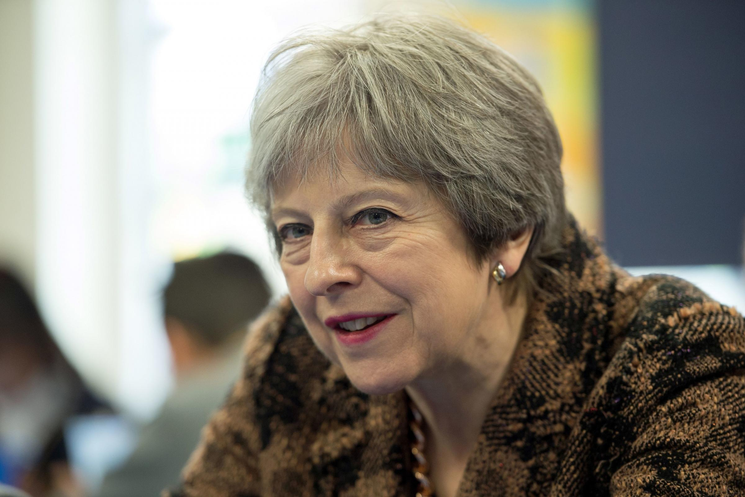 Prime Minister Theresa May. Press Association photo