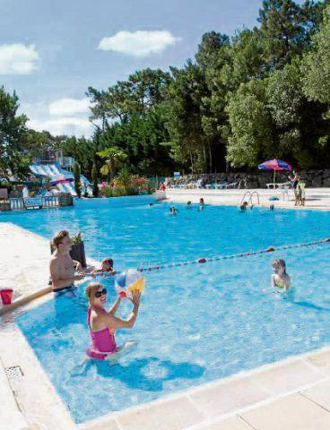 The Oldham Times: SUMMER FUN The swimming pool at Siblu holiday parc Le Bois Dormant