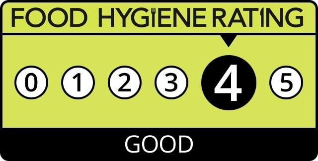 Image result for food hygiene report rating 4