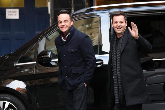 File photo dated 18/01/19 of Anthony McPartlin (left) and Declan Donnelly, who will be absent from the National Television Awards despite being nominated for the presenting award for an 18th consecutive year. PRESS ASSOCIATION Photo. Issue date: Monday Ja