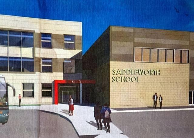 The proposed design for Saddleworth School in Diggle