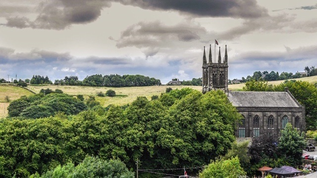 St Chad's Church at Uppermill