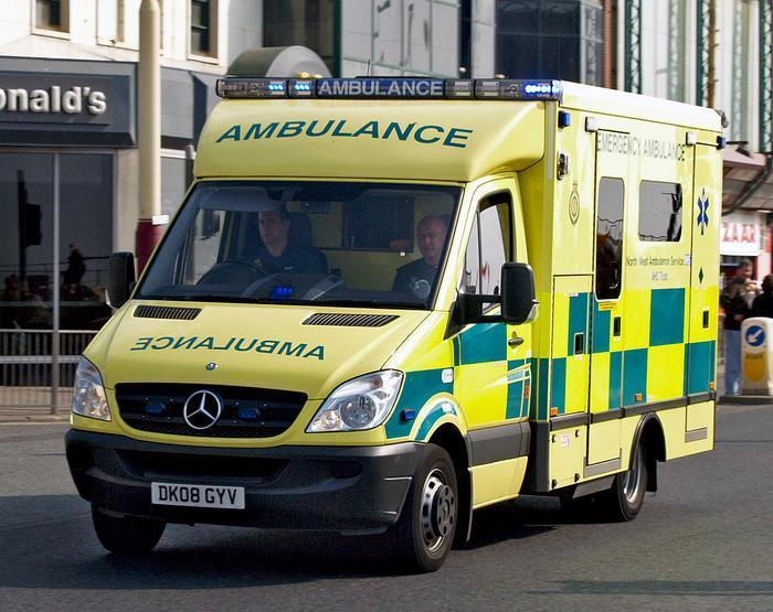 A North West Ambulance Service vehicle. Image: Ingy the Wingy (image free to use with credit)