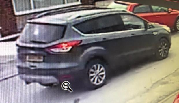 The Oldham Times: The car believed to be involved in stealing Wilma