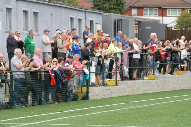 Roughyeds fans. Picture by Dave Naylor