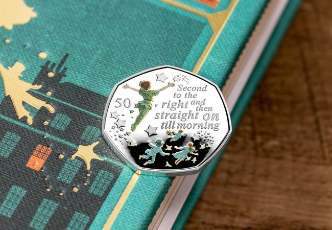 Thousands of people attempt to buy rare Peter Pan 50p coin. Pic credit: The Westminster Collection